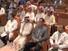 أمانة المؤتمر العلمي بعمادة شؤون الطلاب في لقاء تعريفي عن المؤتمر بالطب البشري