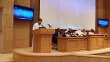 اللجنة العليا للمؤتمر في الملتقى العلمي بإدارة الأعمال بالخرج